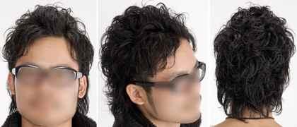男の髪型画像,黒髪ツーブロック