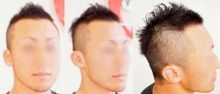薄毛男性向けの髪型画像