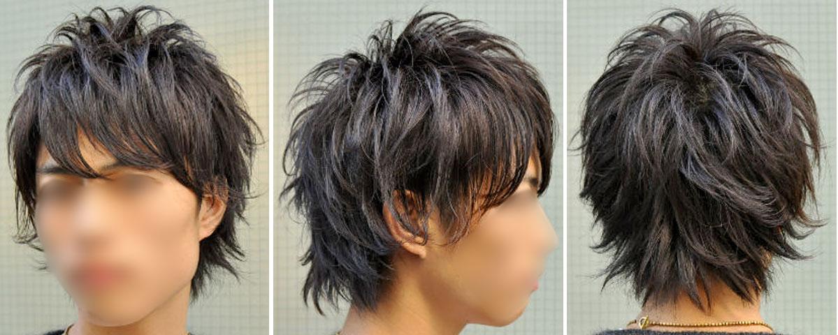 男の髪型画像,ツーブロック