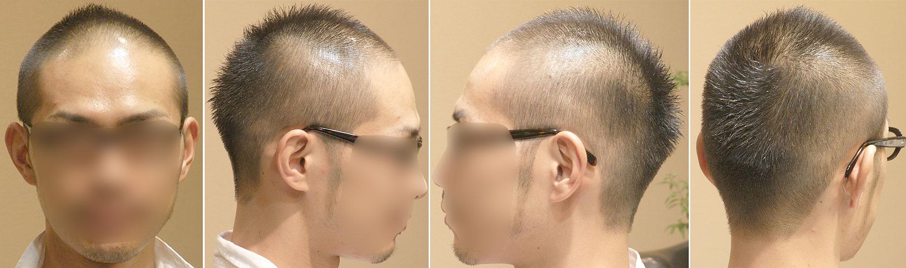 最新のヘアスタイル 男の子坊主 髪型 : クリエイティブボウズ】 : 薄 ...